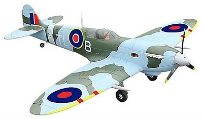 Large Spitfire 5Ch 2.4GHz RTF RC Radio Controlled Aeroplane Plane with Retracts