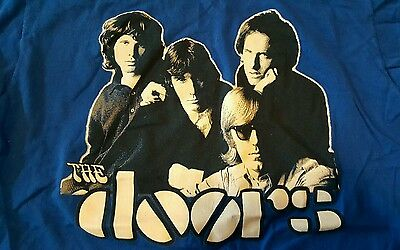 Jim Morrison & The Doors blue T-Shirt in new condition Men's Size M Medium