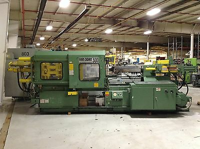 Van Dorn 300 Ton Injection Molding Machine 300-RS-30F Used #73635