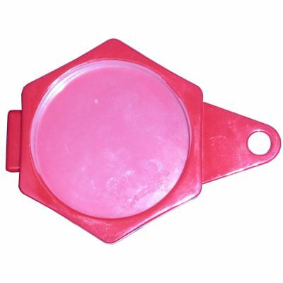 Tax Disc Holder Hexagon Plastic Folder Over Red (Per 12)
