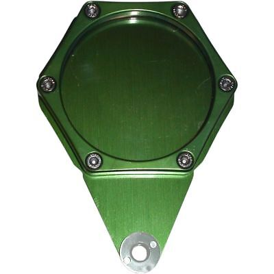 Tax Disc Holder Hexagon Green 6 Studs