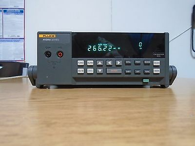 Fluke 2620A with input Module (Looks very good and calibrated!)