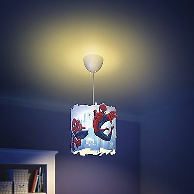 Philips Marvel Abat-jour en plastique Motif Spider-Man