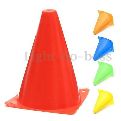 """6x  7.8"""" WITCHES HAT Agility Cones Football Soccer Sports Field Drill Markers"""