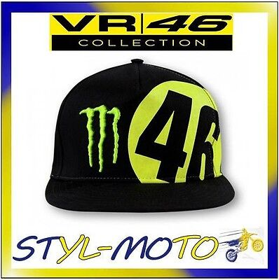 Cappellino Monster Monza Rally Ufficiale 2016 Valentino Rossi Vr46 The Doctor