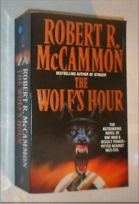 The Wolf's Hour by McCammon, Robert R. Paperback Book The Cheap Fast Free Post