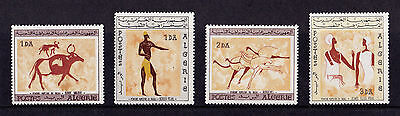 Algeria - 1966 Rock Paintings - U/M - SG 451-54