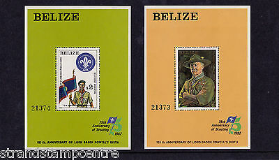 Belize - 1982 Lord Baden-Powell - U/M - SG MS693 (2)
