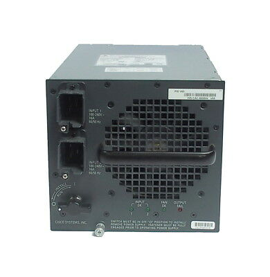 Cisco WS-CAC-6000W V05 341-0092-05 6000W PS For Catalyst 6500 Series Switch