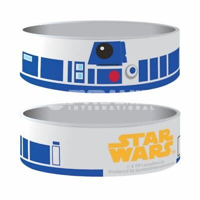 "Collectable Wristband - 1"" Silicone Bracelet - Star Wars - R2D2"