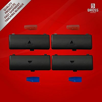 4X Climate Control Air Conditioning Button Cover For BMW 5 Series X5 E53 2000-07