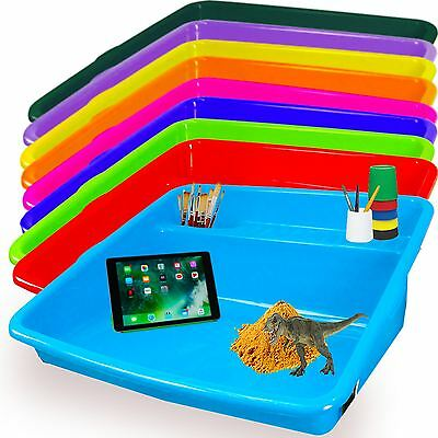 Kids Large Plastic Colour Mixing Play Tray Toy Sand Pool Pit Water Game