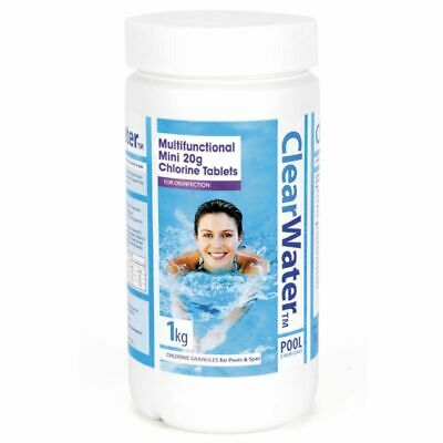 Clearwater - 1kg Multifunctional Mini Tablets - Pool & Spa Treatment