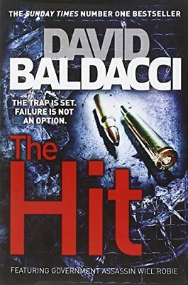 The Hit, Baldacci, David Book The Cheap Fast Free Post