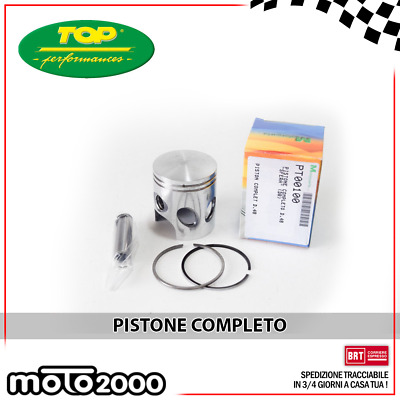 Pistone Completo D. 48 Dr Top Performances Per Scarabeo Liberty Vespa Zip 50