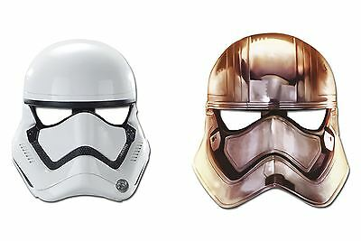 Star Wars 7 Party Masks (Pack of 6)
