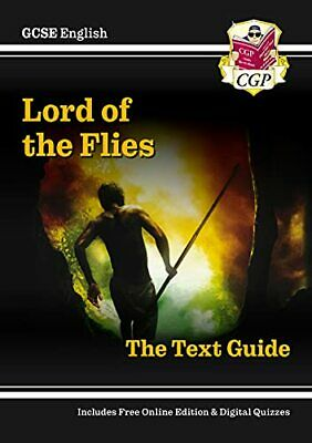 GCSE English Text Guide - Lord of the Flies, CGP Books Paperback Book The Cheap