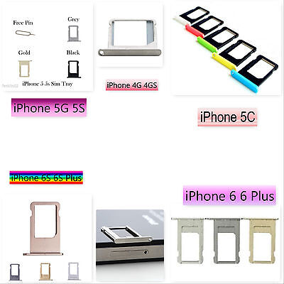 iPhone 4G 4GS 5 5C 5S 6 6 Plus 6S 6S Plus Sim Card Tray Spacer Holder Slot