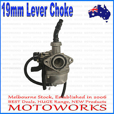 PZ 19mm Lever Choke Carburetor Carby 50cc 90cc 110cc ATV QUAD Dirt Bike Buggy