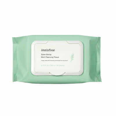 Innisfree Green Barley Cleansing Tissue 50Sheets(250g) Free gifts