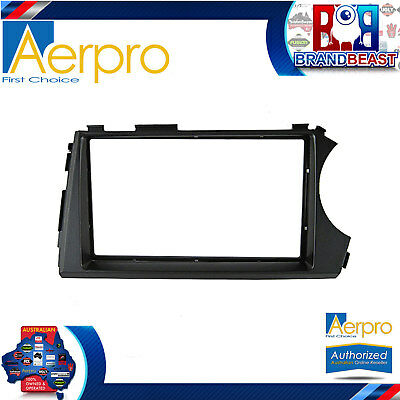 Aerpro Ssangyong Actyon Sport 2012 - On Double Din Factory Color Facia Kit Fasci