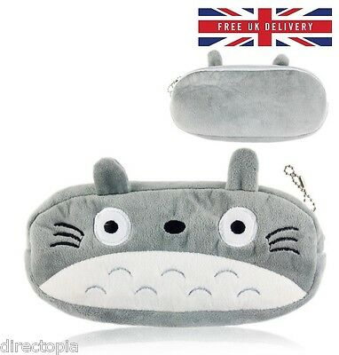 Plush Totoro Pencil Case Cosmetics Bag My Neighbor Totoro Ghibli Japan Anime