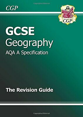 GCSE Geography AQA A Revision Guide (A*-G course) by CGP Books Paperback Book