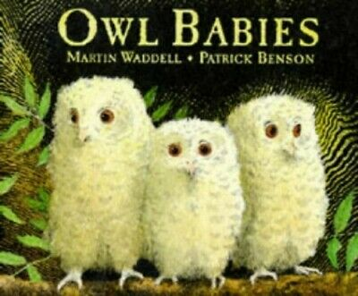 Owl Babies, Waddell, Martin Hardback Book The Cheap Fast Free Post