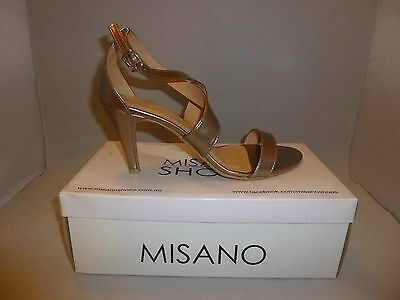 Misano Shoes Heels Style Savvy in Nickel size 10 (NEW) - W1-147