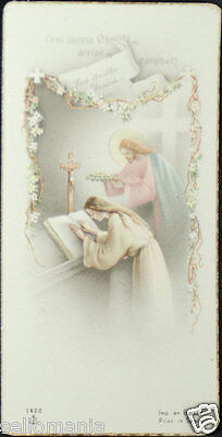 Old Blessed Jesus Christ And Nun Holy Card Andachtsbild Santini Estampa   Cc712