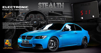 STEALTH 2.0 PERFORMANCE CONTROLLER BMW Turbo Chip Tune Idrive Throttle Booster
