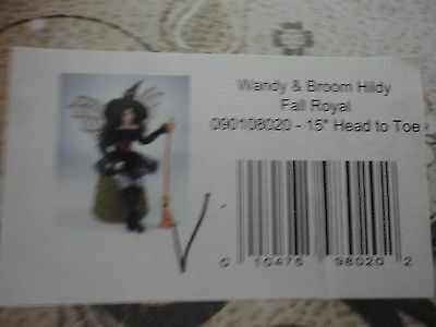 """Charisma Whispering Willow Fairies Wendy and Broom Hildy Fall Royal 15""""H New"""