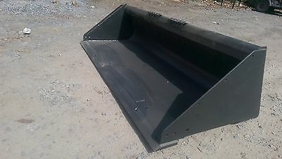 "New Extreme Heavy Duty 84"" Skid Steer Bucket for Bobcat, Case, CAT & more - 7'"