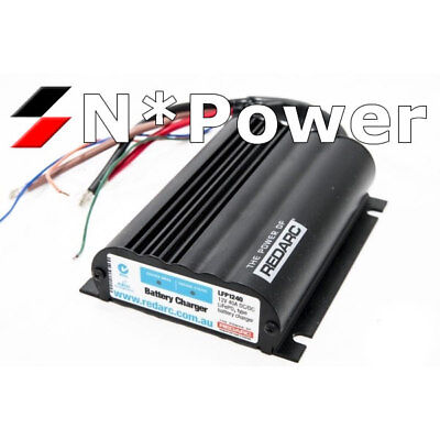 Redarc Lfp1240 Battery Charger 12V 40A Solar Input For Lithium Iron Phosphate