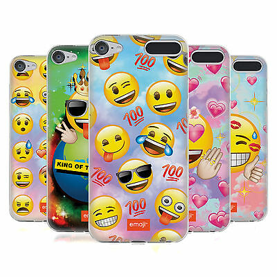 OFFICIAL EMOJI SMILEYS SOFT GEL CASE FOR APPLE iPOD TOUCH MP3