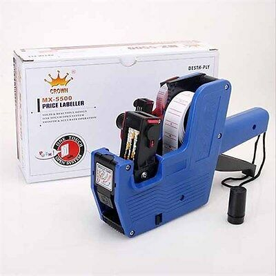 Price Pricing Label Tag Tagging Labeller Gun 8 Characters On One Line Refillable