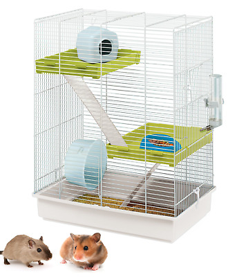 Heritage Rabbit Cage Accessory Pack Drink Bottle Food Bowl Guinea Pig Rodent