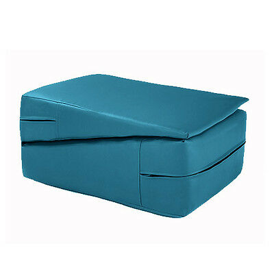 Turquoise Gymnastics Training Wedge Incline Mounting Yoga Block Vault Folding