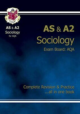 AS/A2 Level Sociology AQA Complete Revision & Practice... by CGP Books Paperback