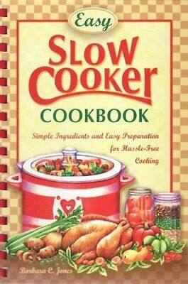 Easy Slow Cooker Recipes Paperback Book The Cheap Fast Free Post