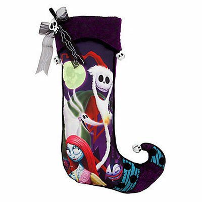 Disney Parks Christmas Holiday Stocking The Nightmare Before Christmas New Tags