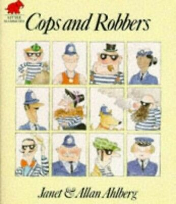 Cops and Robbers, Allan Ahlberg Paperback Book The Cheap Fast Free Post