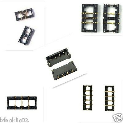 x2 iPhone 4 4S 5 5c 5s 6 7 Charger Battery FPC Contact Board Connector