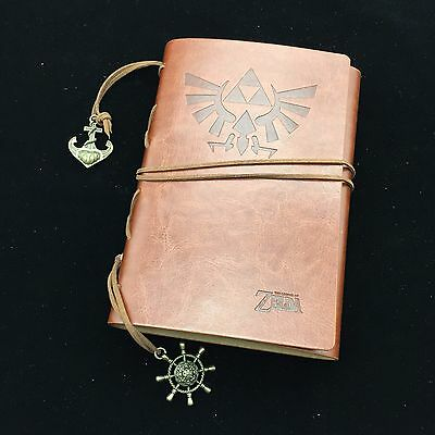 The Legend of Zelda Memo Notebook Diary Workbooks Vintage With Card Money Bag