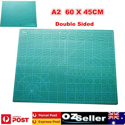 A2 Grid Lines Self Healing Cutting Mat Craft Card Fabric Leather Paper Board