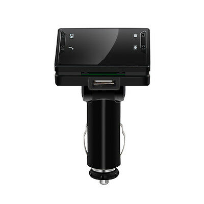 Wireless Bluetooth Car Charger Dual USB FM Transmitter WMA AUX Audio MP3 Player