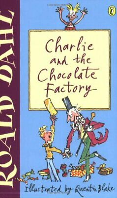Charlie and the Chocolate Factory (Puffin Fiction) by Dahl, Roald Paperback The