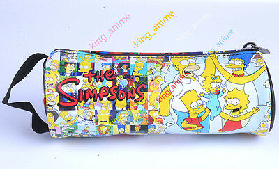 The Simpsons Pencil Pen Case Cosmetic Make Up Bag Storage Pouch