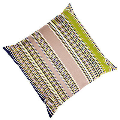 "Multistripe LARGE 24"" Outdoor Patio Waterproof Cushion Ready Filled Garden Seat"