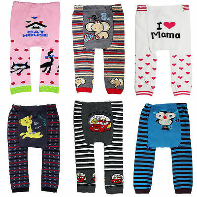 Baby Toddler Infant Boys/Girls/Unisex Trousers Leggings Tights Pack of 3 Pieces